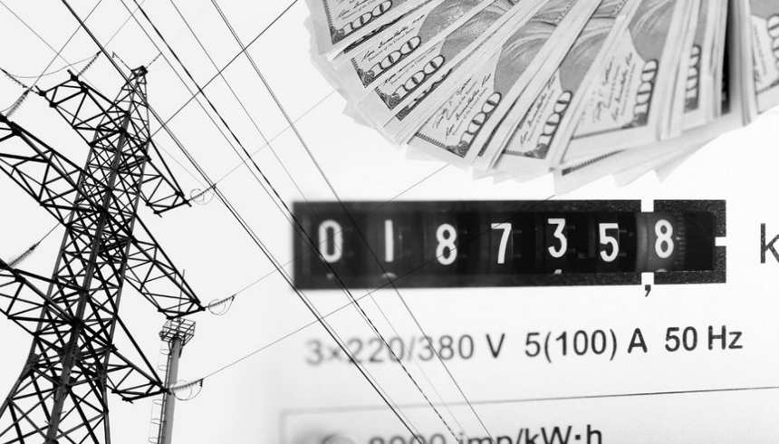 77460061_m-High-voltage-tower-lines-electric-meter-display-and-american-dollars.-
