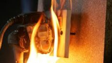 Electrical Fire Outbreak
