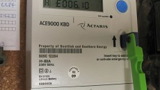C7WP35 quantum key prepayment electric meter, paying for electricity as you use it