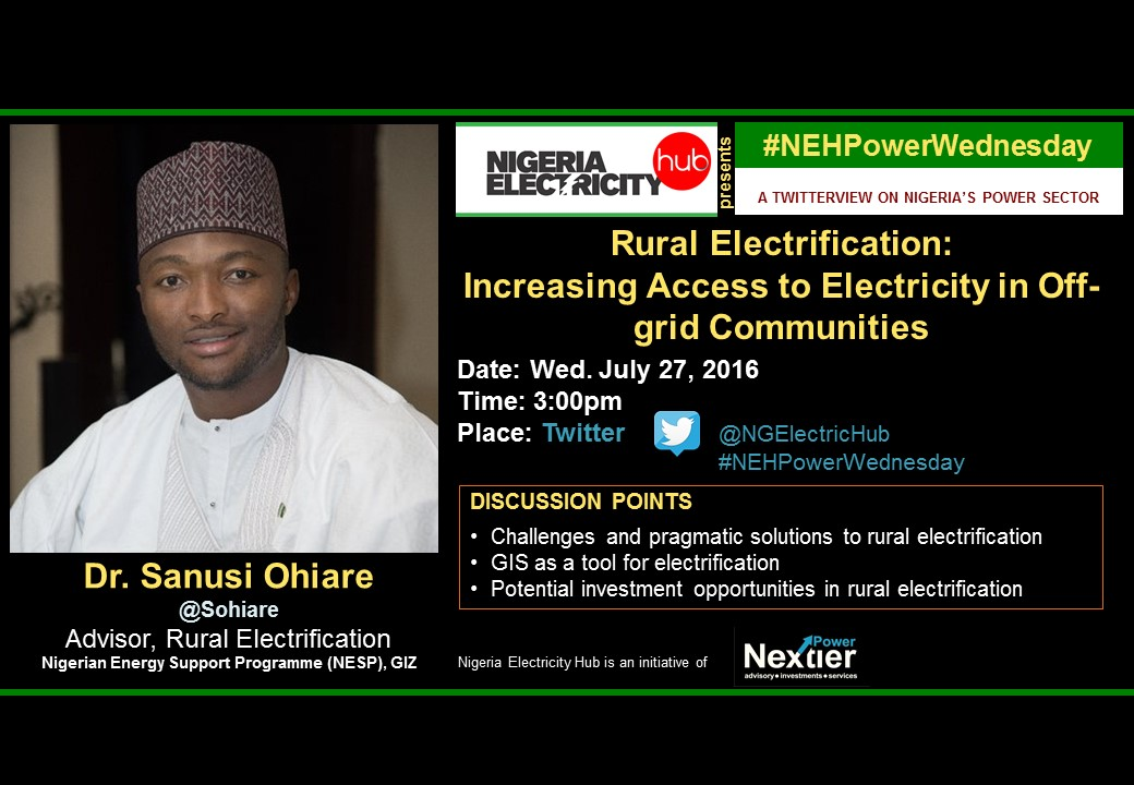 PowerWednesday Dr. Sanusi Ohiare