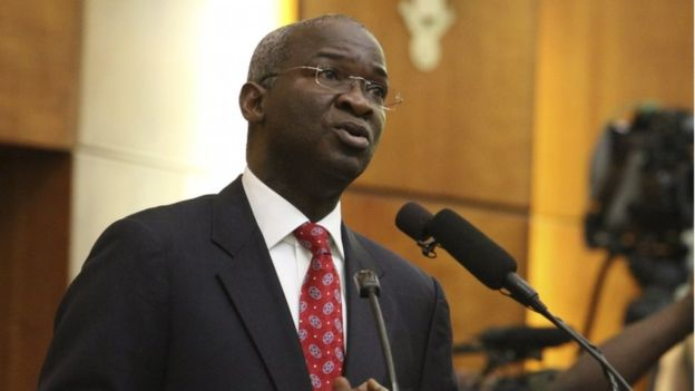 Image result for Minister of Power, Works and Housing, Babatunde Fashola